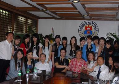 中国国际城市小姐绿色环保世界巡演团
